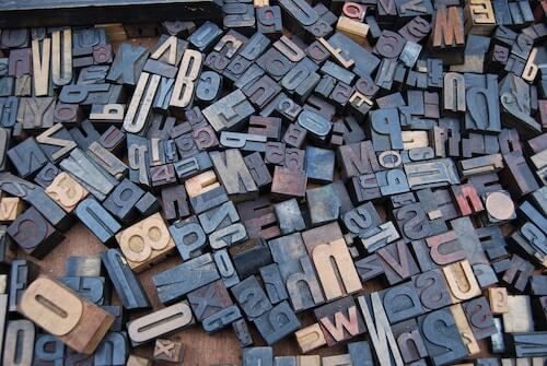 psaní velkých písmen v angličtině