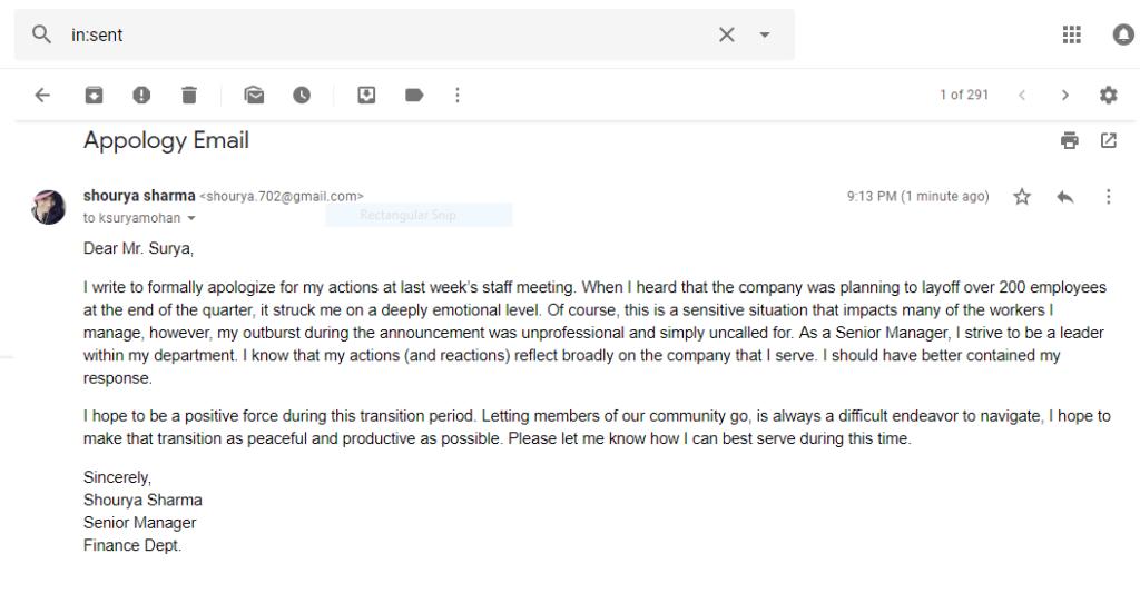 email v angličtině