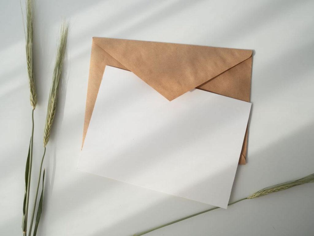 dopis v angličtině