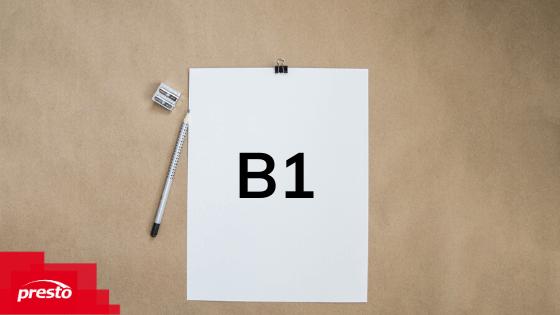 Jazyková úroveň B1
