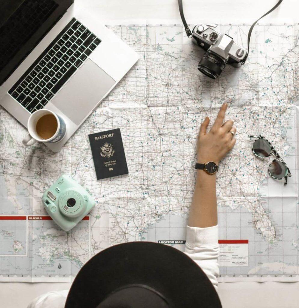 cestování a jazyky